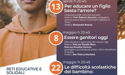 """Salesiani, scuola ed adulti per """"diventare genitori"""""""