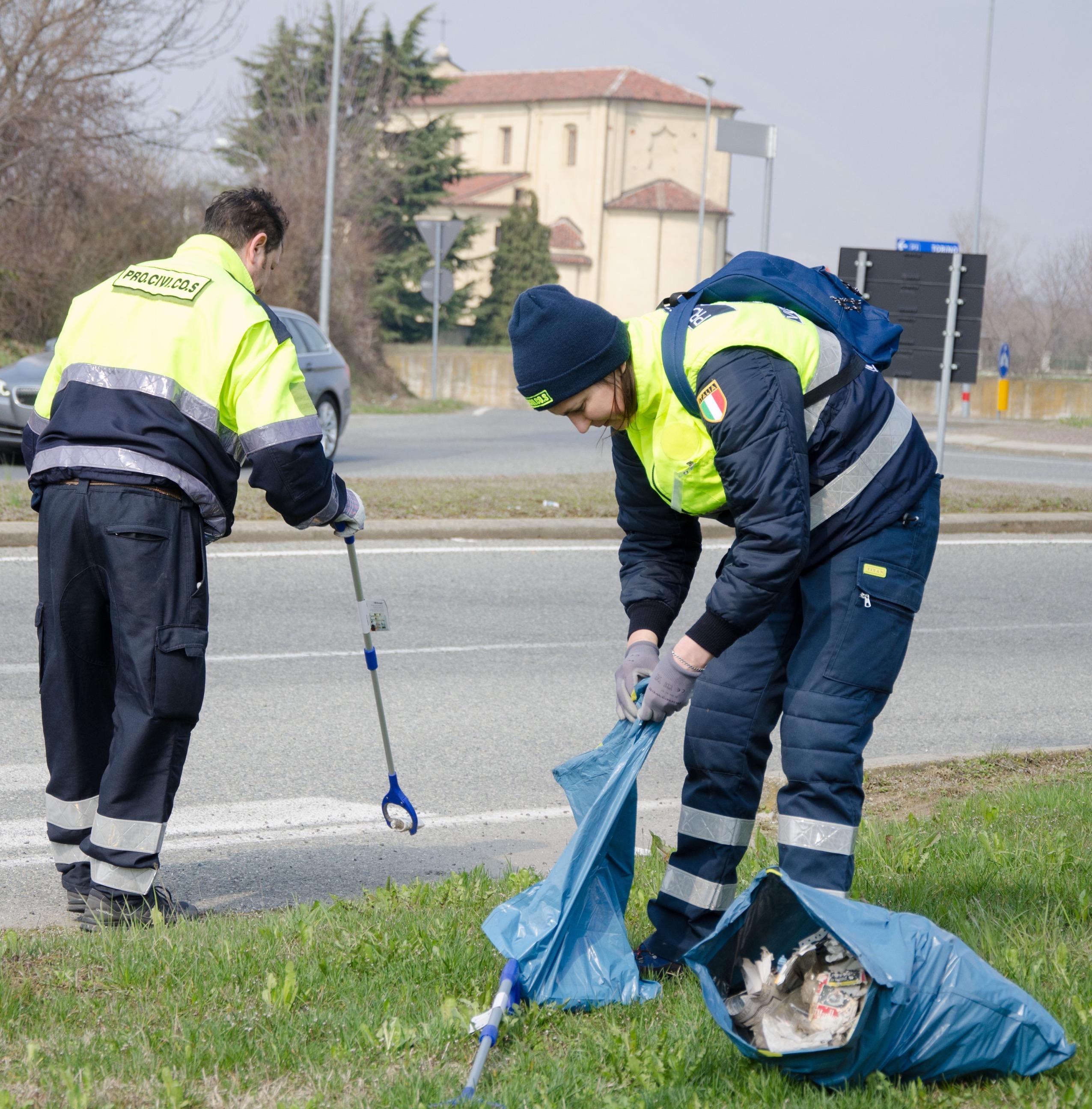 Volontari a Druento