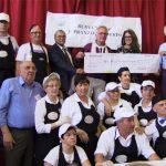 """Grande adesione al """"Pranzo del Sorriso"""": 190 i commensali, 3.740 euro per la Fondazione """"Io sto con il Regina Margherita"""" (FOTO e VIDEO)"""