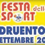 DRUENTO – Entusiasmo, partecipazione e colore per 4^ Festa dello Sport (VIDEO)