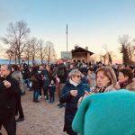 PIANEZZA – Con il 'Falò della Befana' termina il Viaggio di Natale (FOTO)