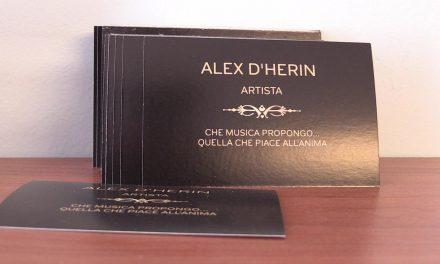 Alex D'Herin, una vita per la musica. Il suo ultimo disco per avvicinarsi al cuore delle persone (VIDEO)