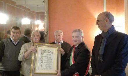 VENARIA – Mario Simini, i 25 anni della 'Cazzuola d'oro'