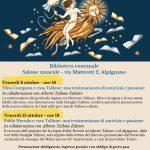 Alpignano ospita il Salone OFF, Dino Campana e Pablo Neruda protagonisti dell'edizione 2021.
